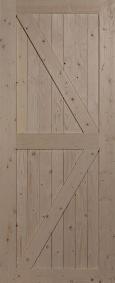 """Дверное полотно """"Амбарное №2"""""""